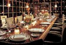 upscale midtown manhattan restaurant with private dining rooms
