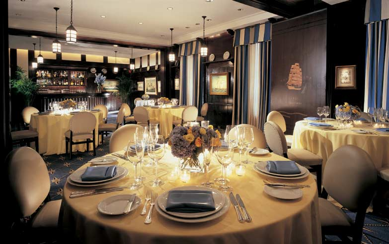 Classic upscale midtown restaurant with private dining for Best private dining rooms midtown