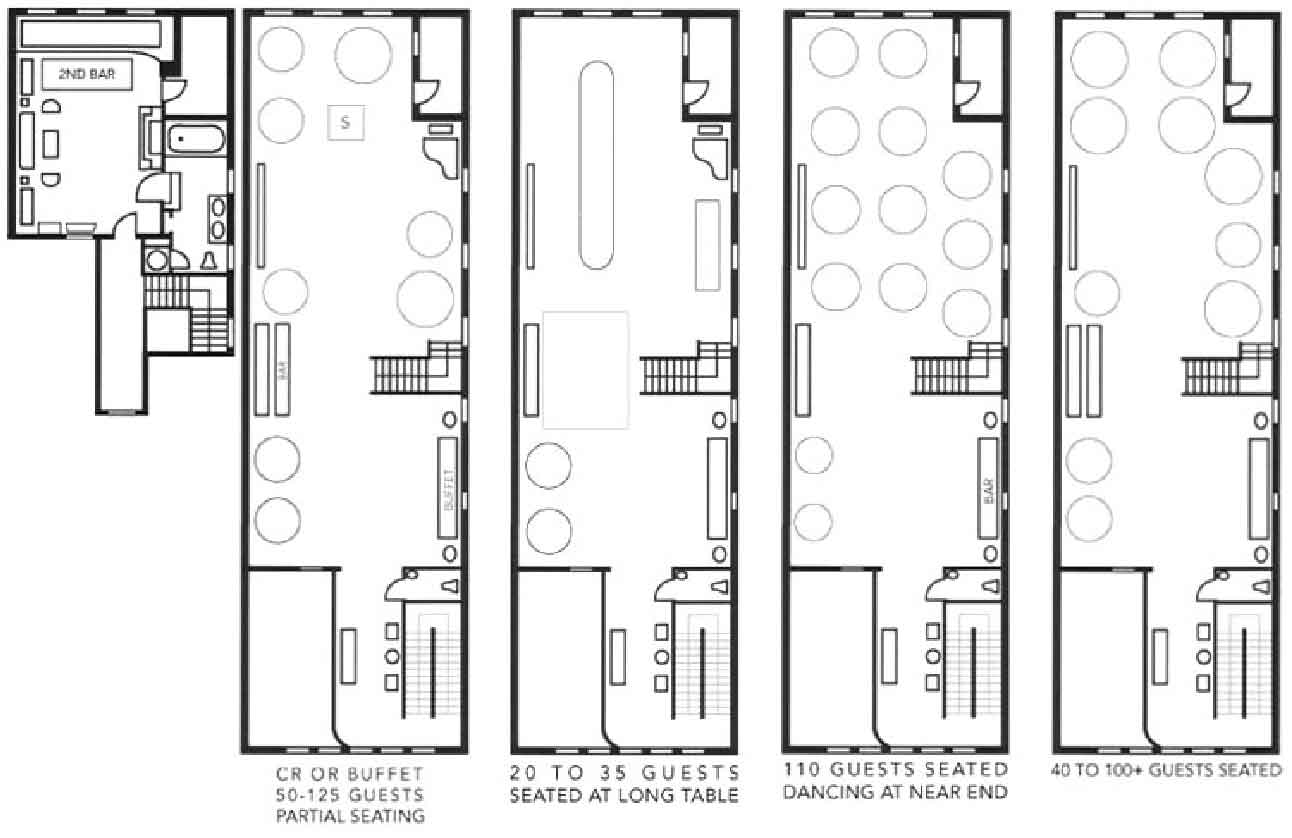 Townhouse Layouts