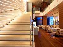 upscale times square restaurant private event rooms with live music