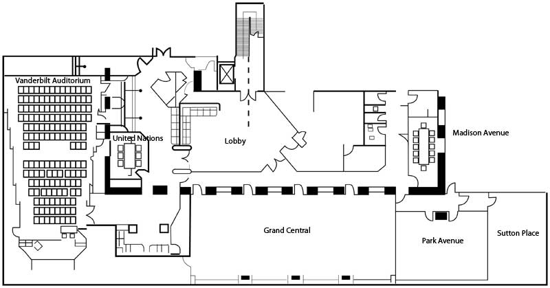 meeting room seating diagram