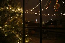 brooklyn ny party space with views of manhattan and empire state building