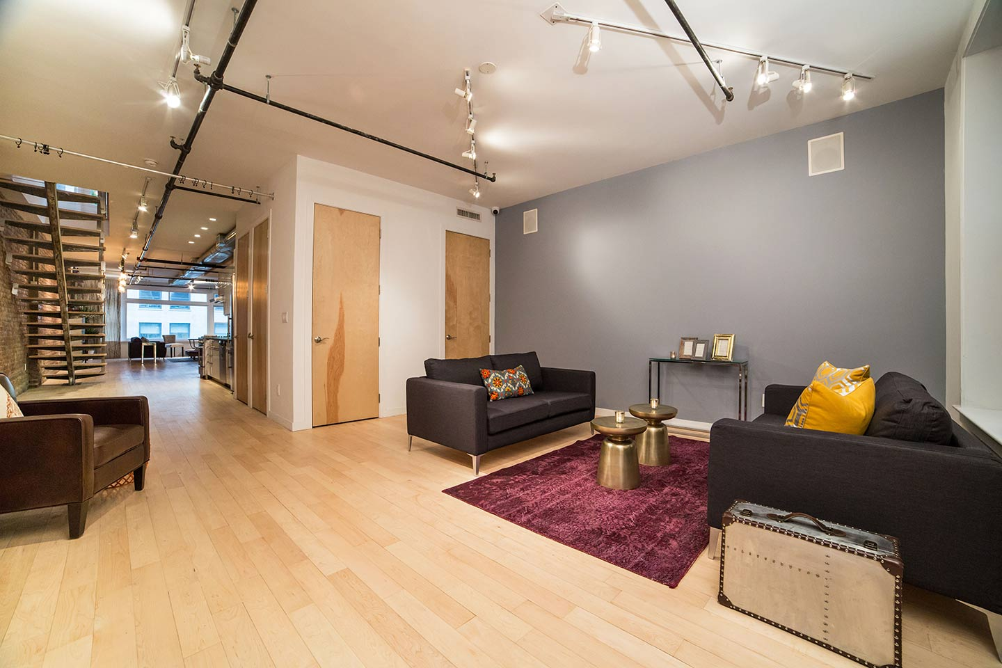 Flatiron District Penthouse Loft Event Space For Meetings And Parties In Manh