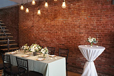 cocktail style nyc wedding reception venues with outdoor space