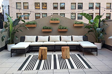 outdoor cocktail party spaces in manhattan