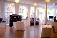 nyc event spaces with kitchens islands