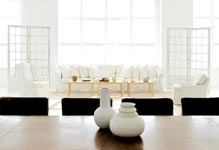 white downtown new york city lofts for wedding receptions and ceremonies
