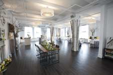 nyc flatiron district lofts for media launch event