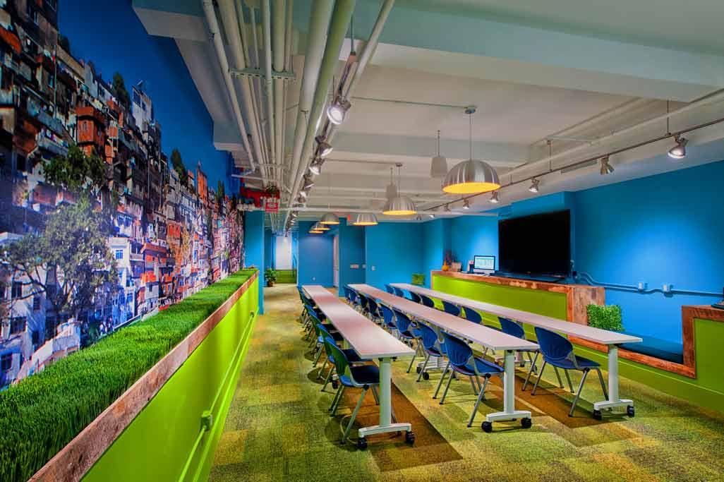 Ultra Modern Classroom ~ Ultra modern hi tech meeting and event venue new york