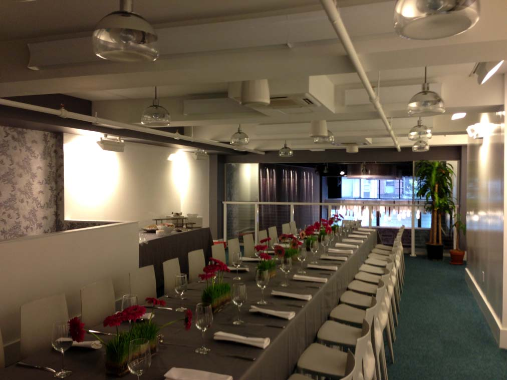 Ultra Modern Hi Tech Meeting And Event Venue New York