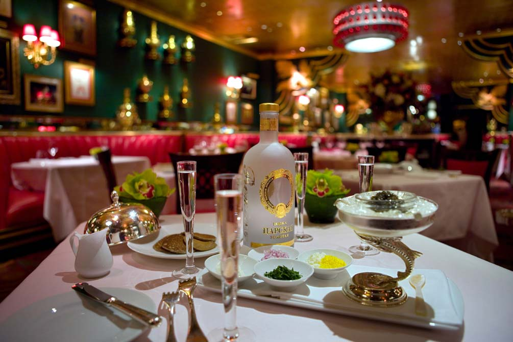 Historic Upscale Russian Restaurant New York Ny