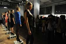 rent manhattan fashion show event location with high ceilings