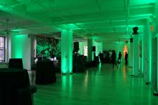 cool raw party spaces in midtown manhattan with stage