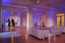 Bright, Intimate Fashion District Event Studio with Small Stage ...
