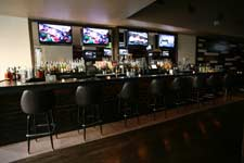 corporate holiday party and happy hour reception in manhattan bar