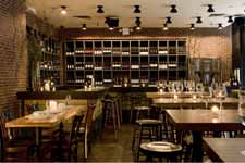 downtown wine bar and restaurant event space new york city