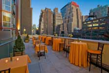 midtown manhattan hotel with rooftop and outdoor event space