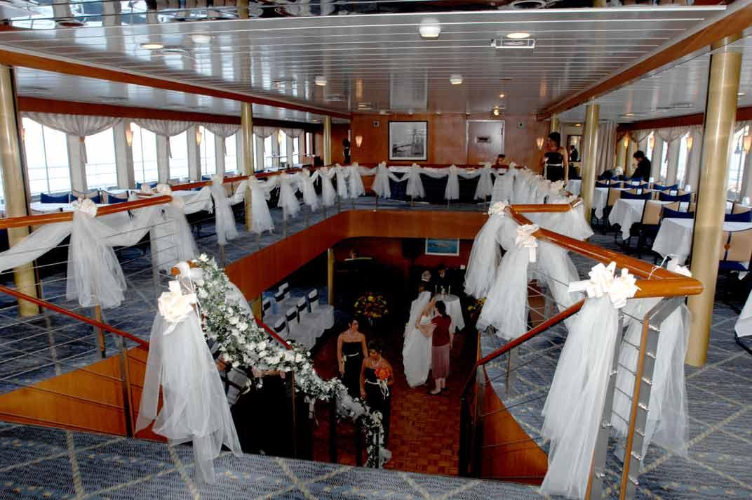 Katahdin boat wedding
