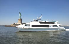 luxury yacht charter in manhattan for parties and events