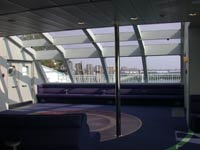 yacht corporate party spaces in new york city with lounge seating