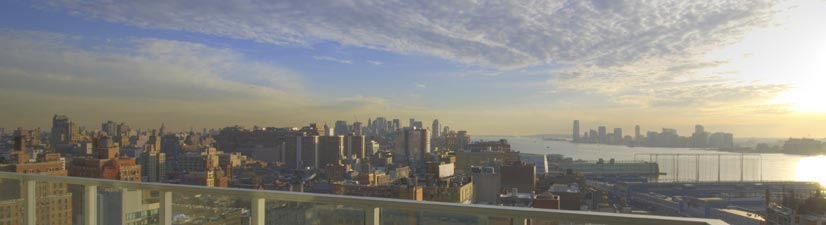 chelsea nyc party venues - great views - by the highline
