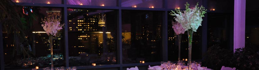 downtown manhattan sweet 16 venues with outdoor space - great nighttime views