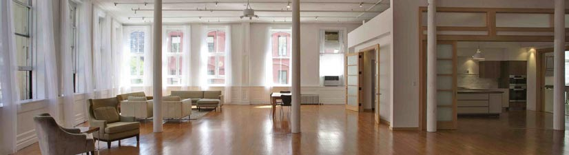 elegant loft spaces to rent for wedding party new york city