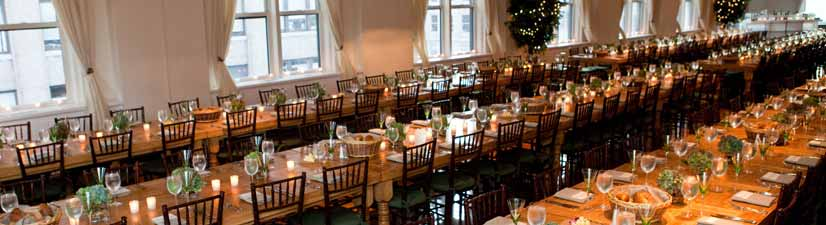 The best venues in nyc for private events and parties for Bank ballroom with beautiful mural nyc