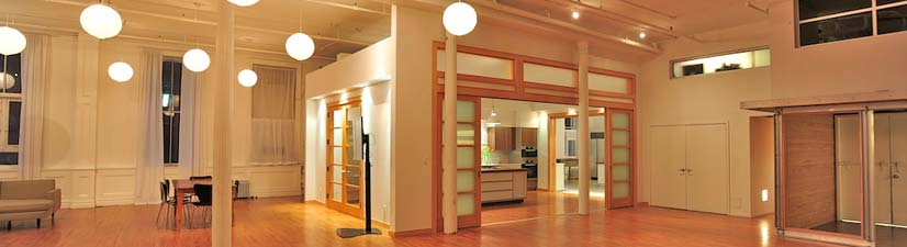 union square team building event venue with full kitchen rental