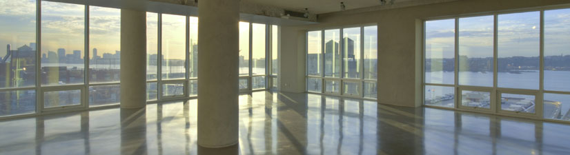 luxury meeting venue in chelsea nyc - highline and new york skyline views