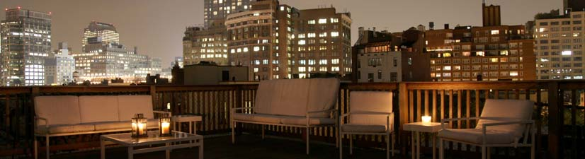 small penthouse venue rental for product launch downtown manhattan