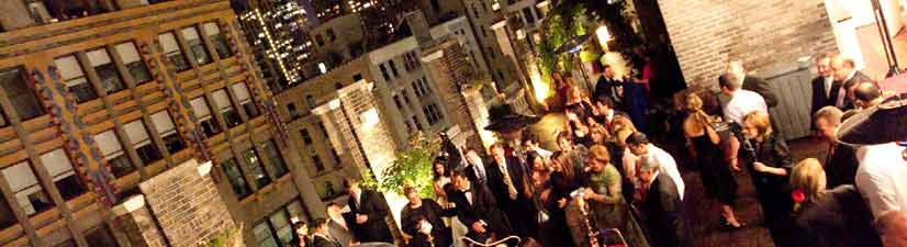 rooftop event space nyc gramercy - large outdoor area