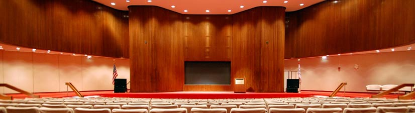 midtown manhattan conference venue for rent with breakout space - auditorium