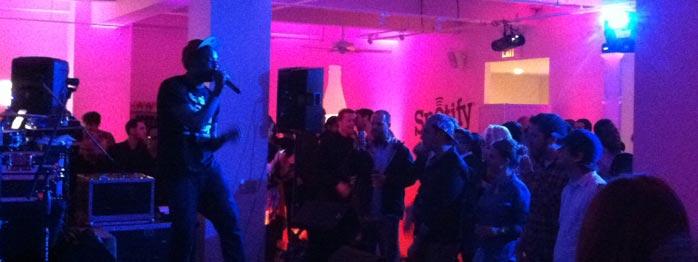 Coca-Cola and Spotify event at Studio Arte